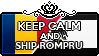 Keep Calm and Ship RomPru by Cioccoreto