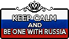 Keep Calm and be one with Russia by xioccolate