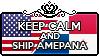 Keep Calm and Ship AmePana by StampillaDiChocolat
