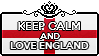 Keep Calm and Love England by StampillaDiChocolat