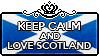 Keep Calm and Love Scotland by xioccolate