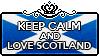 Keep Calm and Love Scotland by Cioccoreto