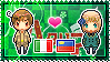 APH: South Italy x Liechtenstein Stamp by xioccolate