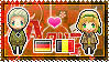 APH: Germany x Belgium Stamp by xioccolate