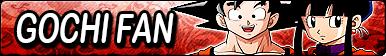 DBZ: GoChi Fan Button by xioccolate