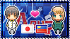 APH: Japan x Liechtenstein Stamp by StampillaDiChocolat