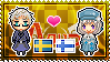 APH: Sweden x Fem!Finland Stamp by xioccolate
