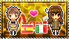 APH: Spain x Fem!Italy, South Stamp by StampillaDiChocolat