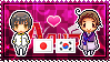 APH: Japan x Korea, South Stamp by xioccolate