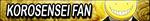 AK: Korosensei Fan Button by xioccolate