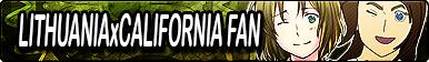 APH: Lithuania x California Fan Button by xioccolate
