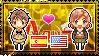 APH: Spain x Fem!America Stamp by StampillaDiChocolat