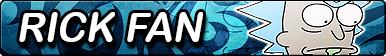 RnM: Rick Sanchez Fan Button