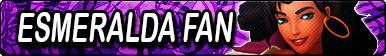 THoND: Esmeralda Fan Button