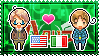 APH: America x North Italy Stamp by xioccolate