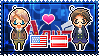 APH America x Austria Stamp by xioccolate