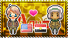 APH: America x Egypt Stamp by xioccolate