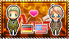 APH: Germany x America Stamp by xioccolate