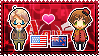 APH: America x New Zealand Stamp by xioccolate