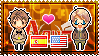 APH: Spain x America Stamp by xioccolate