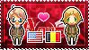 APH: America x Male!Belgium Stamp by xioccolate