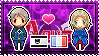 APH: Prussia x France Stamp by xioccolate
