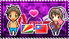 APH: Male!Seychelles x Male!Taiwan Stamp by xioccolate