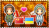 APH: China x Ukraine Stamp by xioccolate
