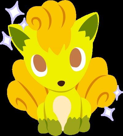 Pokemon Time Vulpix (Shiny) by kirstysokawaii on DeviantArt
