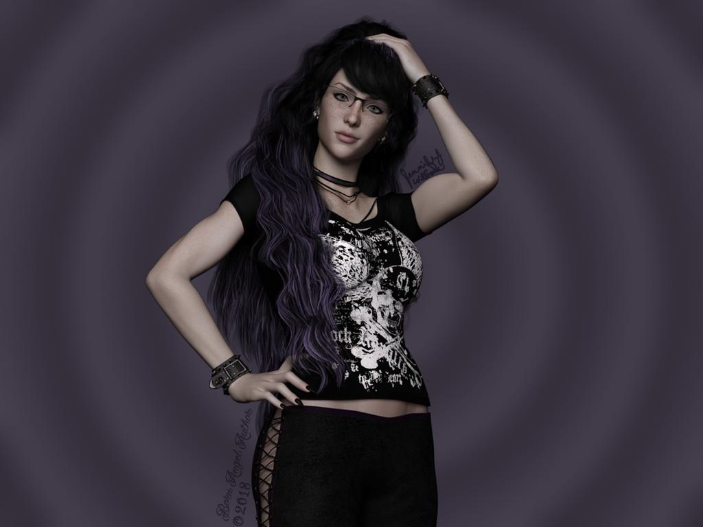 Fan Art: Lilith Steels by BornAngelAuthor