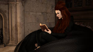 Intense Reading by BornAngelAuthor