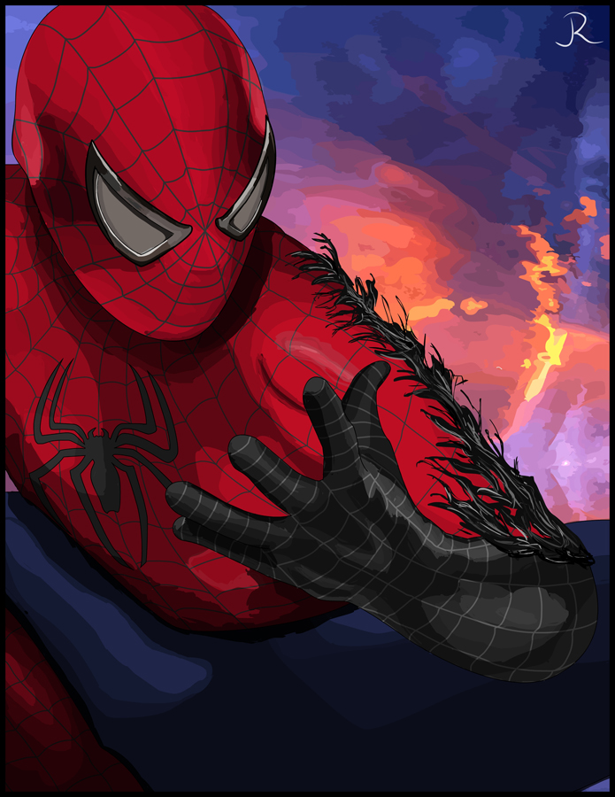 Spidey Consumed by SpideyVille