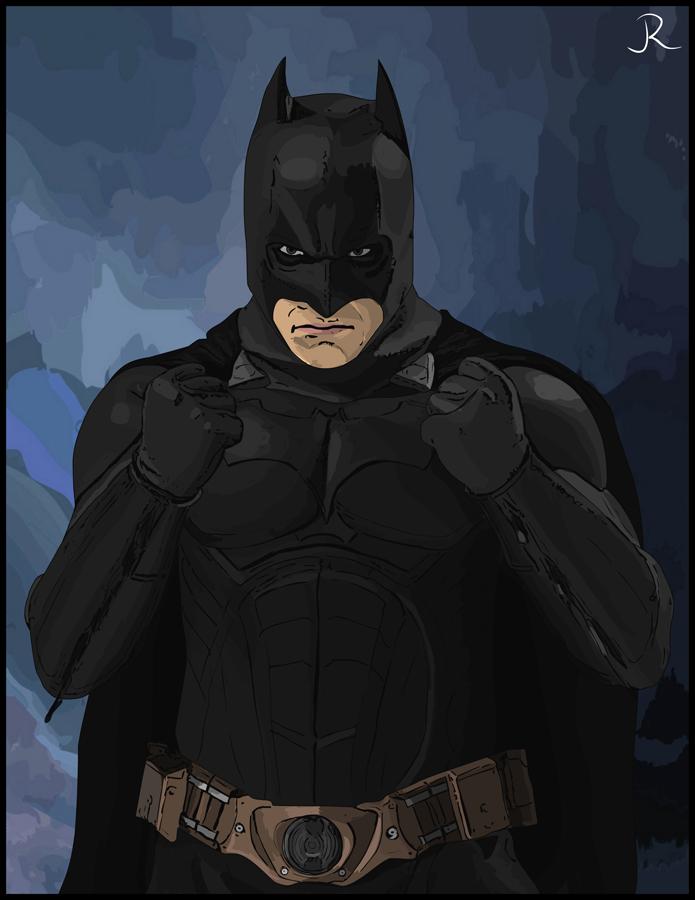 Batman by SpideyVille