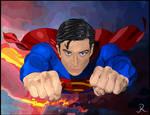 Superman Flight - re-color