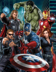 Avengers by SpideyVille