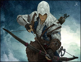 Connor Kenway - Assassin's Creed III by SpideyVille