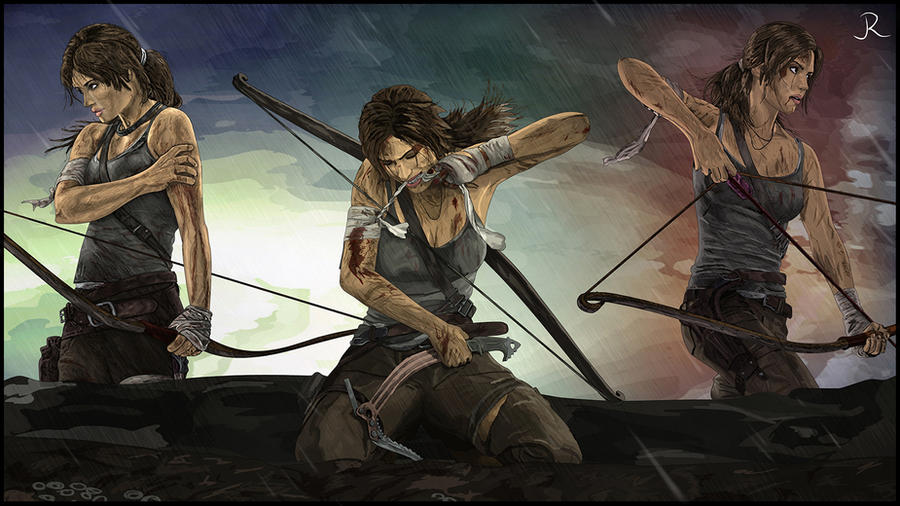 Lara Croft - Tomb Raider compilation by SpideyVille