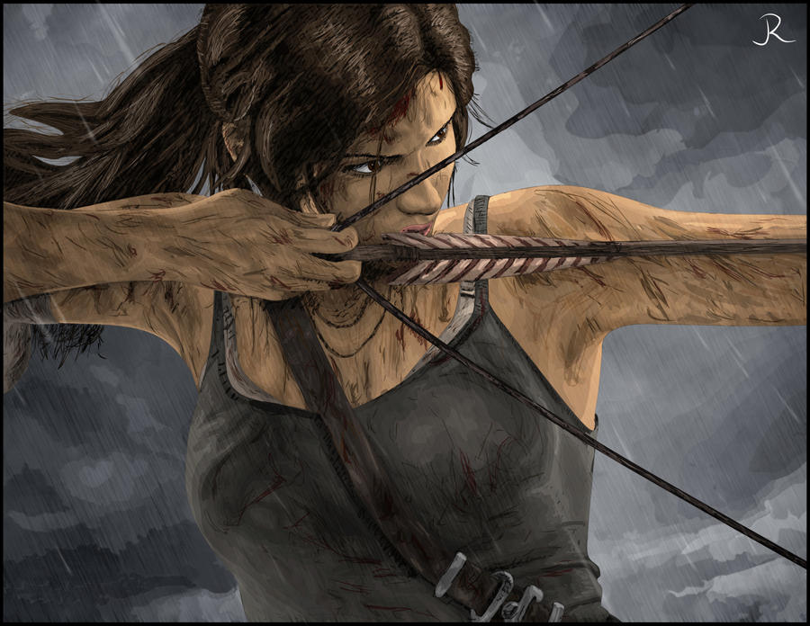Lara Croft - Tomb Raider #4 by SpideyVille