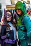 NYCC 2013 - Green Arrow and Huntress