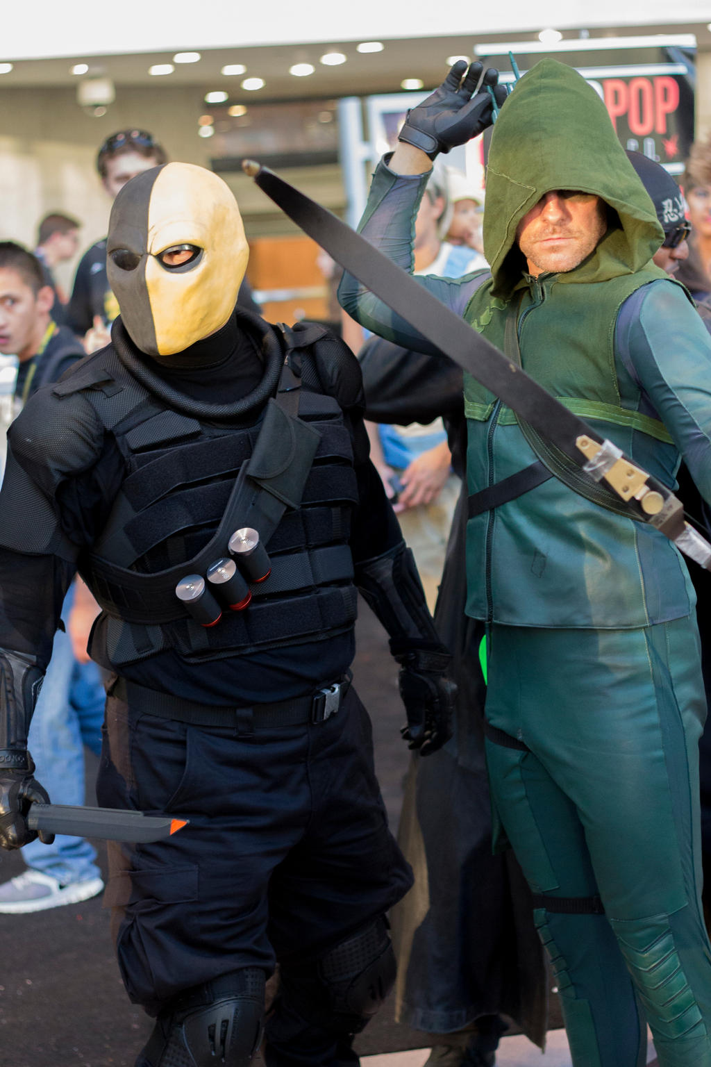 deathstroke arrow cosplay - photo #11