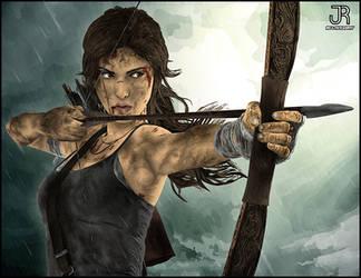 Lara Croft - Tomb Raider #5 by SpideyVille