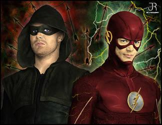 Arrow Flash by SpideyVille