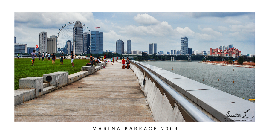 Marina Barrage by AznFX-Designs