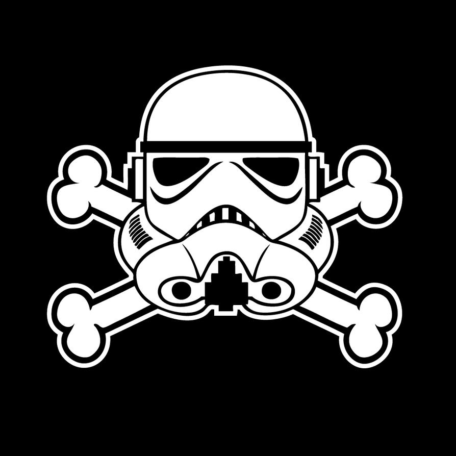 Stormtrooper Jolly Roger v1 by stacalkas on DeviantArt