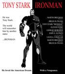 Iron Man Scarface Poster
