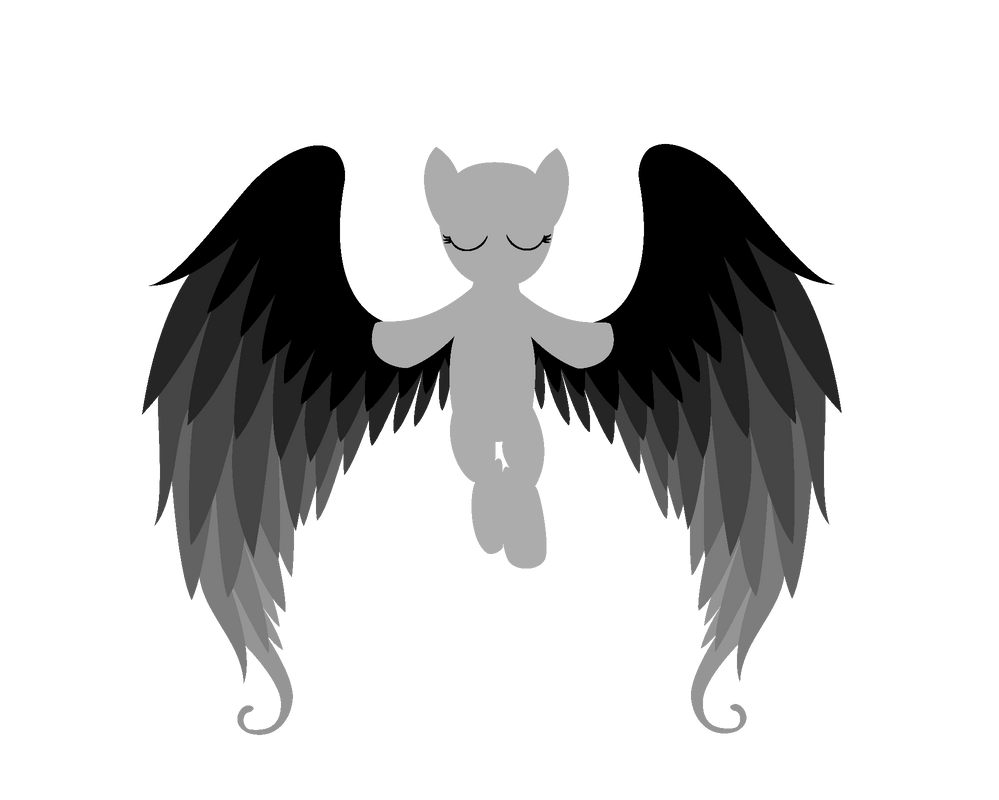 Mlp Fim Angel Base