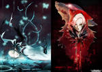 +NeverenD: Chapters covers+ Blue and Red