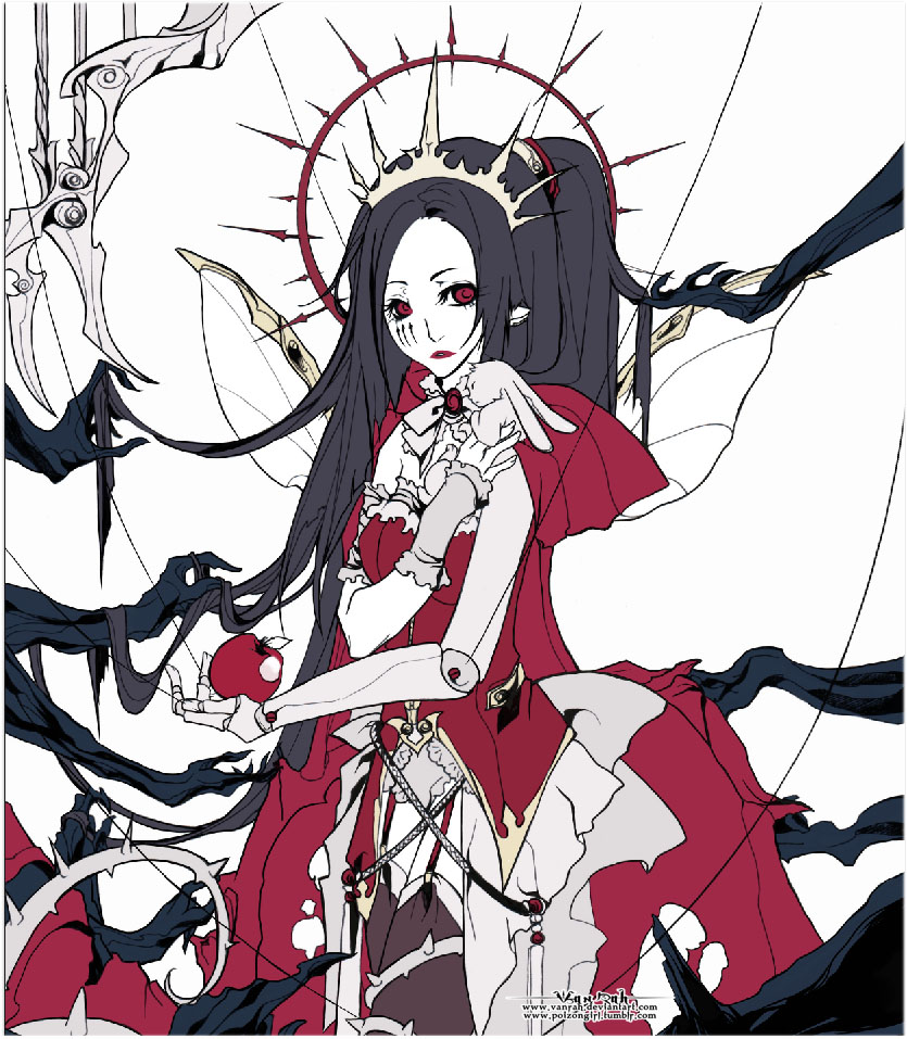 + The Empress + WIP by VanRah