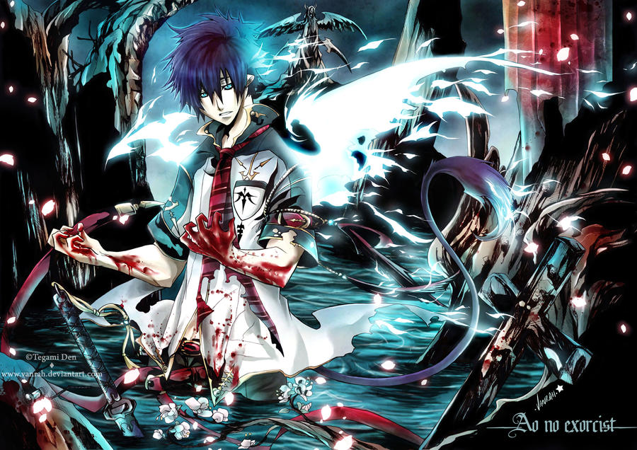+Ao no Exorcist+ Devil Side by VanRah