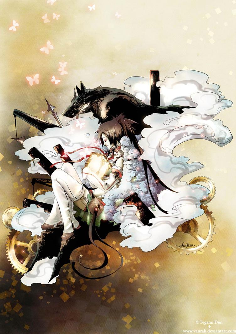: Quixotic artbook special artwork 01 : Franklyn : by VanRah
